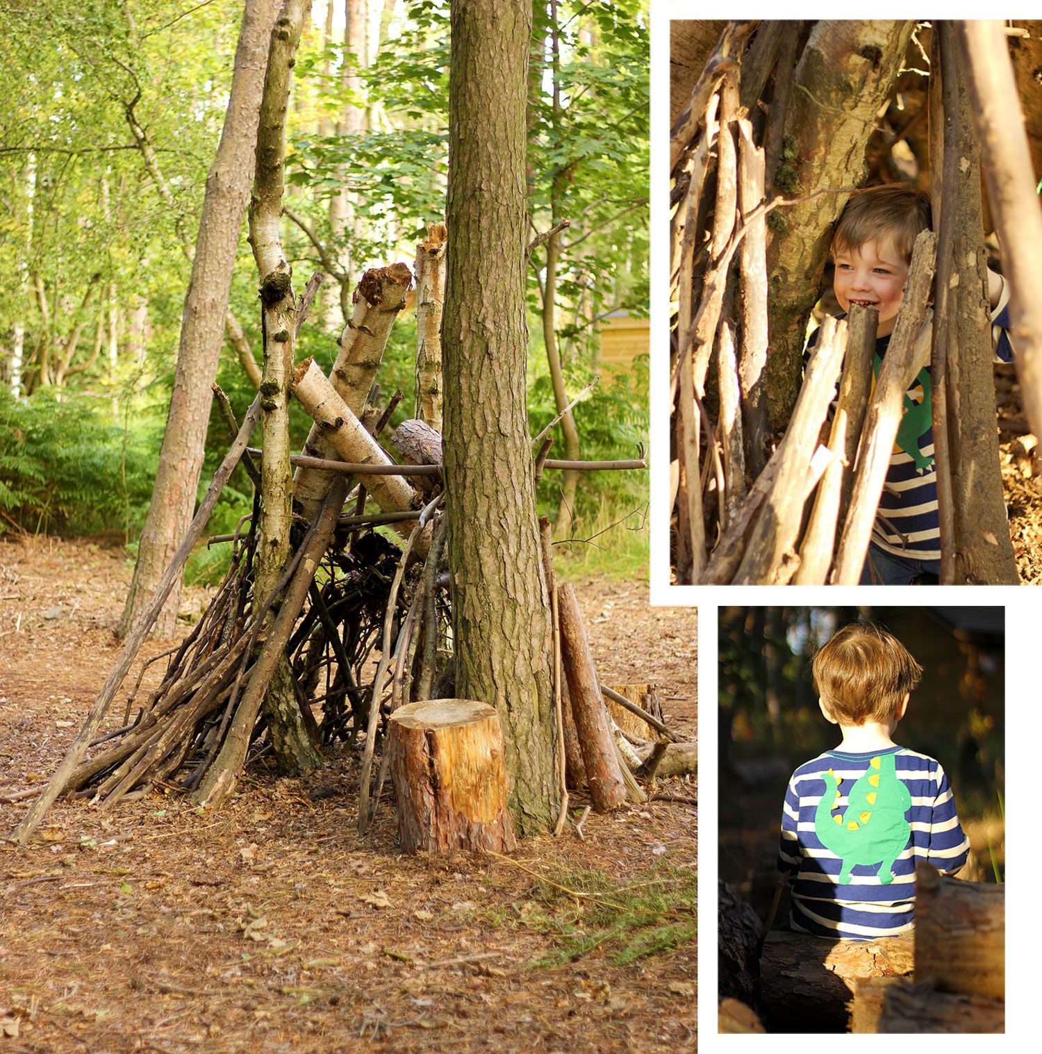The Joules Journal How To Build The Best Forest Den Ever