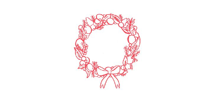 illustration of festive christmas jumper