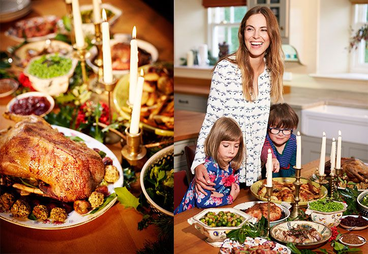 how to lay your christmas festive lunch table