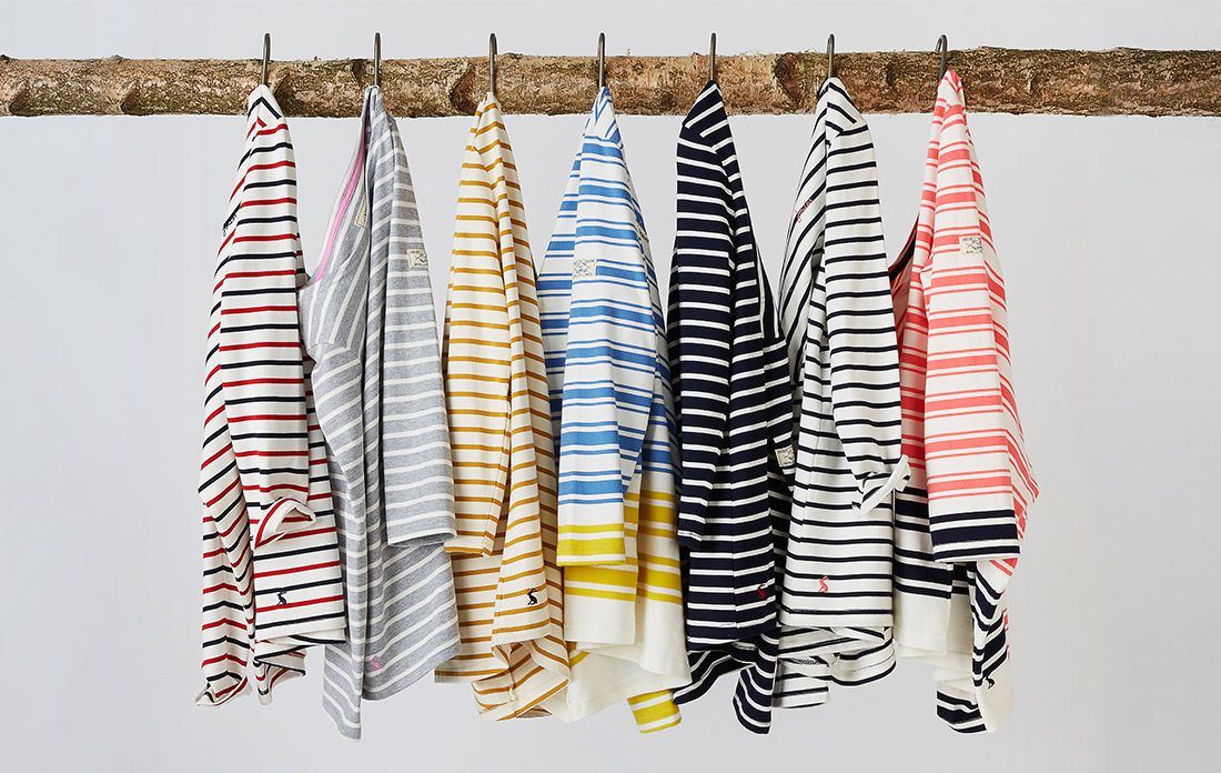 joules classic breton striped top