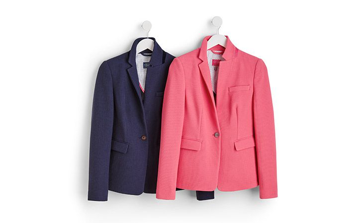 joules collection of tailored blazers