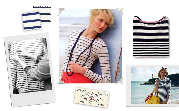 polaroids of the history of the breton striped nautical top