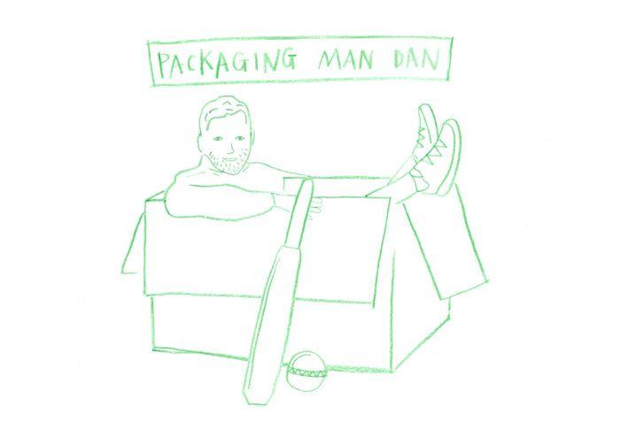 illustration of joules packaging designer