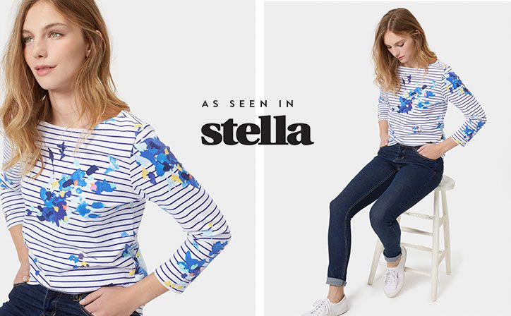 Famed for the fit and the fabric, this top is quite simply one of the best things we've ever designed. It started with stripes and every season we look to add a little something extra.