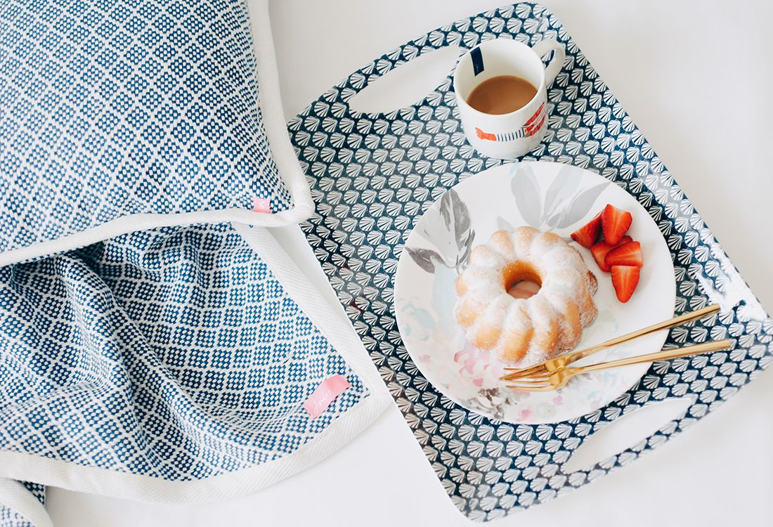 The fabulous Andreea behind Launeden tells us how to brighten up your bedroom for spring