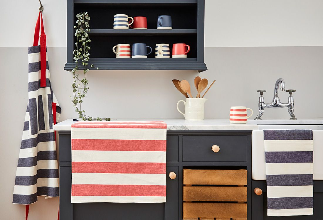 Our new nautical-inspired collection of kitchenware is fresh, earthy and brightening up a kitchen near you right now.