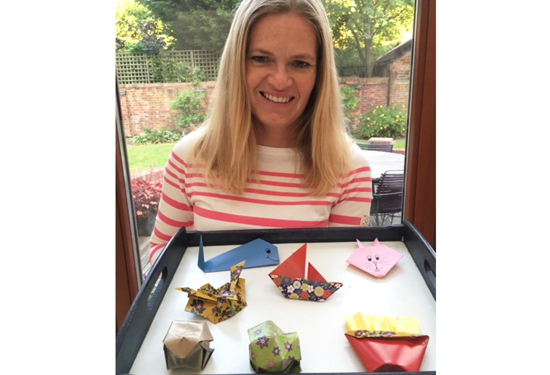 jane from wholsesale has made a selection of animals from paper