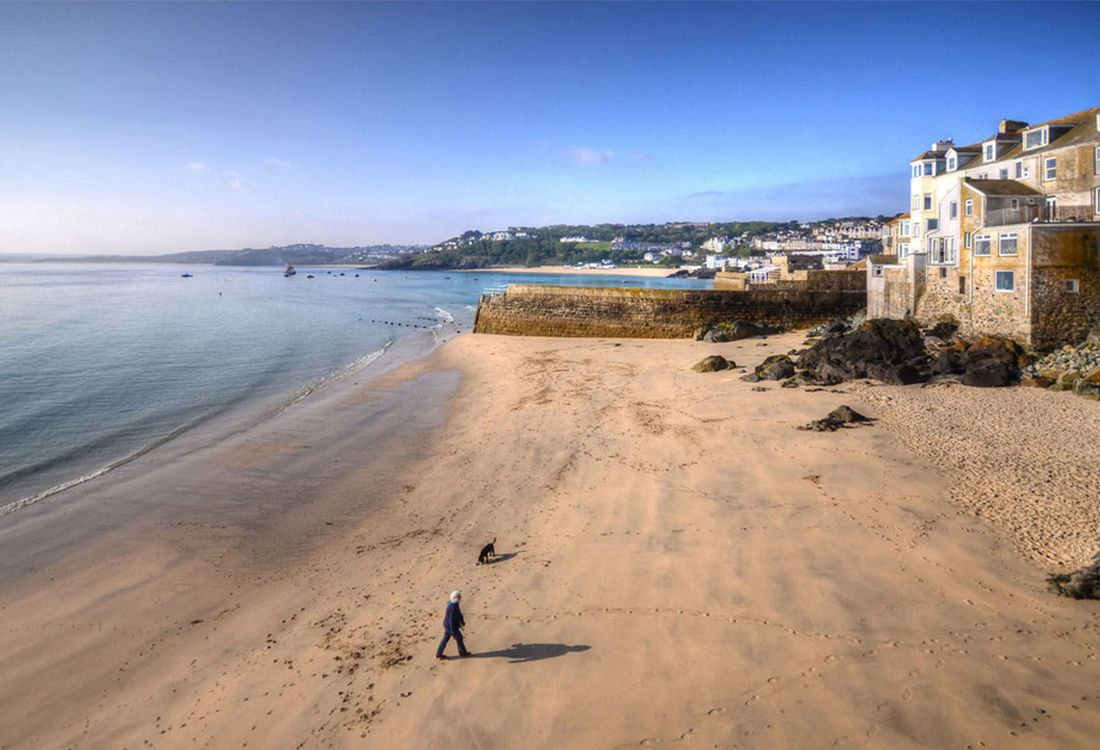 Summer of colour in St Ives Cornwall
