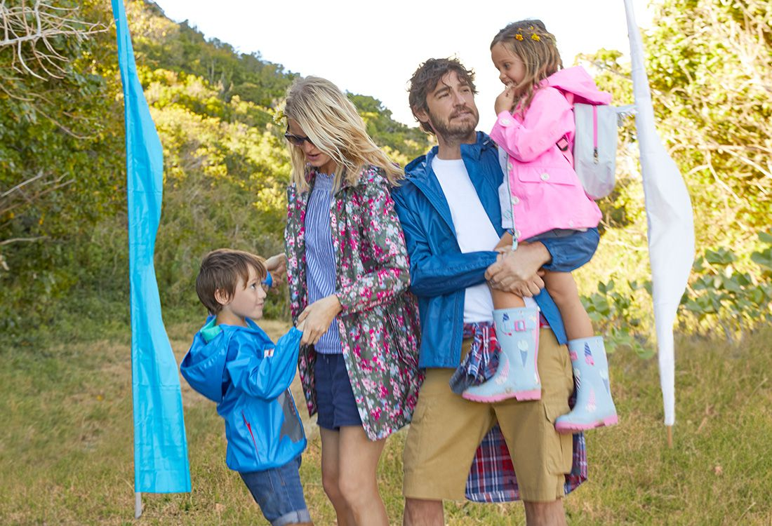 Joules Festival collection for this summer's family festival events