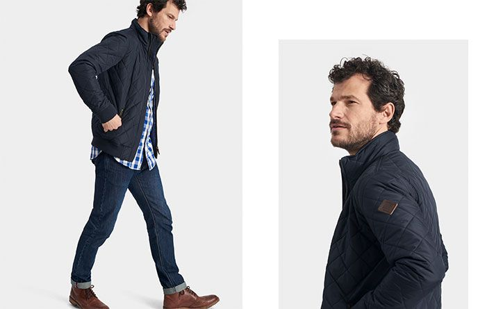 Meet one of the most stylish men's jackets we've ever made.