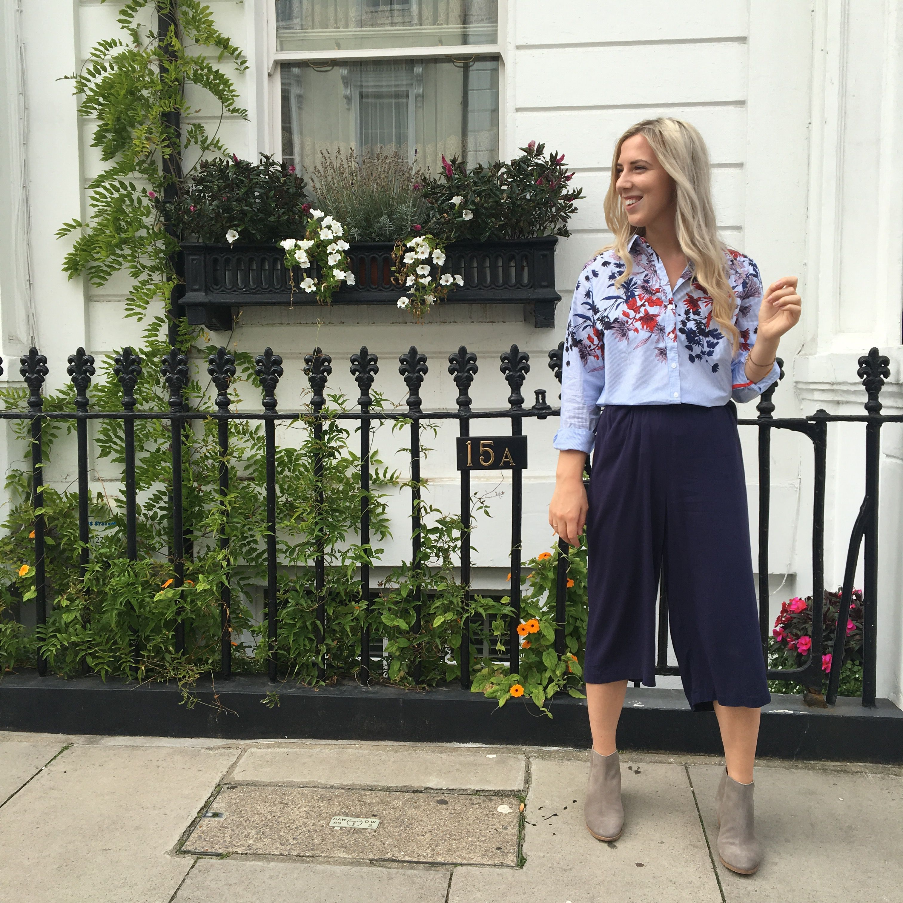 Great for 9-to-5 dressing culottes are a dream in the office as they're contemporary, yet comfortable. Smarten up for meetings with a classic striped shirt – the Karina helps to add a lovely bit of character into the everyday - wear with boots this autumn.