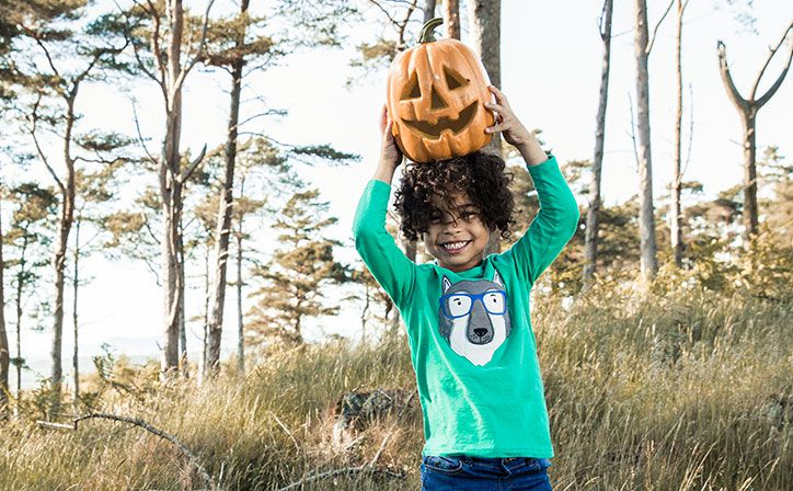 This season we've extended our range of Little Joule clothes to include ghostly, magical and glow in the dark features to give the finishing touches to their seasonal Halloween outfits.
