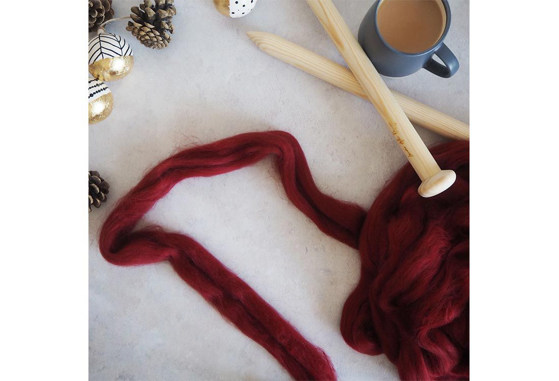 Our dear friend Lauren, from Lauren Aston Designs, shares her hints and tips about her wonderful world of giant knitting and shows us how to knit for us beginners