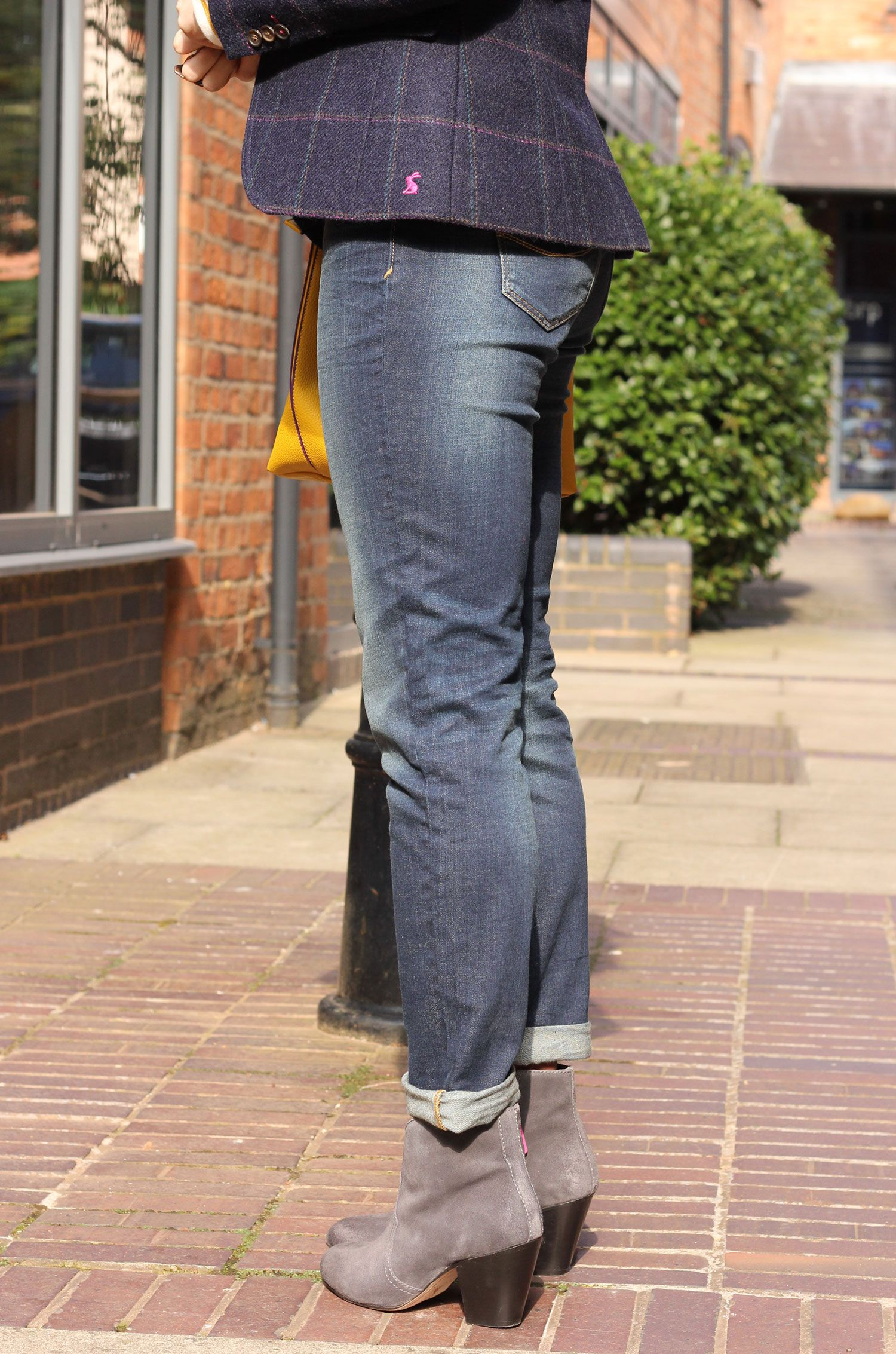 How To Wear Girlfriend Jeans Joules