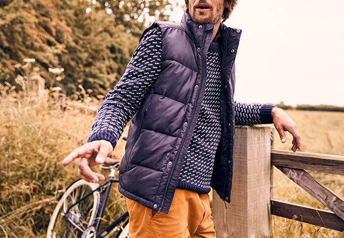 What to wear under a gilet
