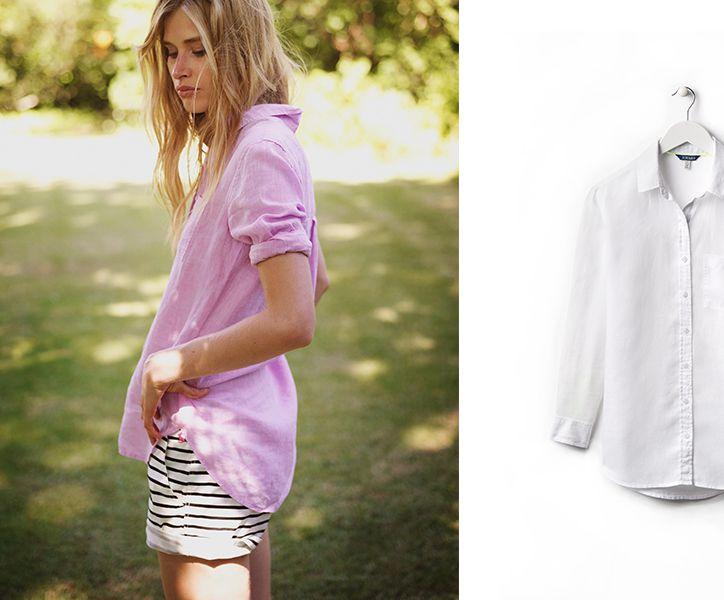 Jeanne Linen Shirt