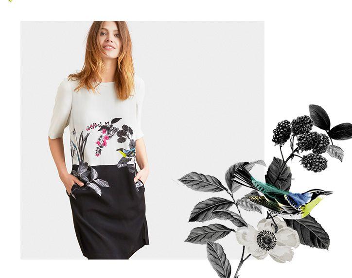 Joules Birdberry Cynthie Dress