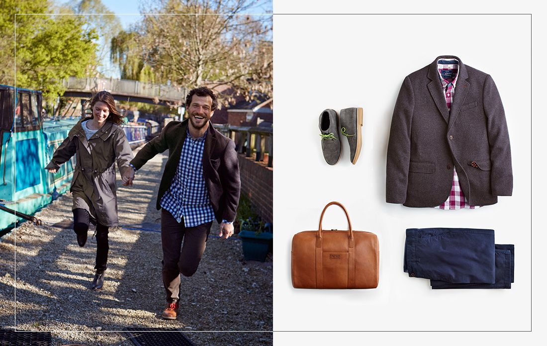 Mens collection must-haves hero image