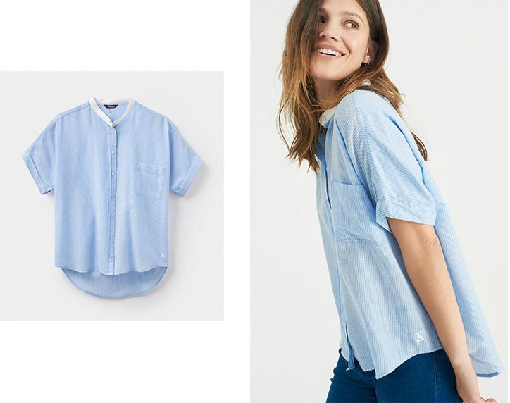 Beat the heat in style with the gina shirt