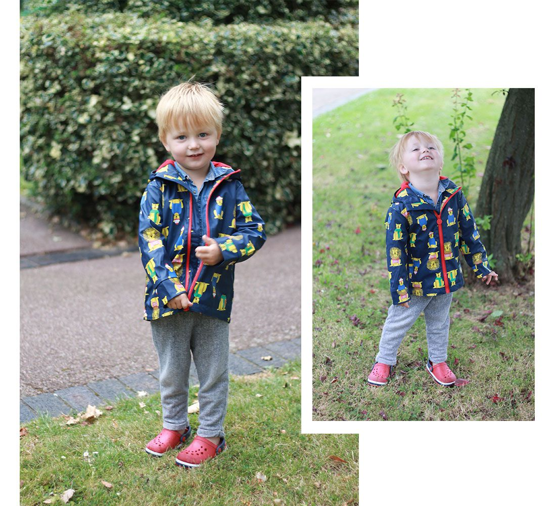 Bloggers test Joules raincoats