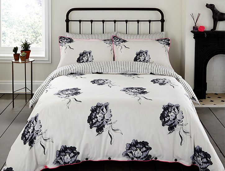 Joules printed duvet and pillow cases