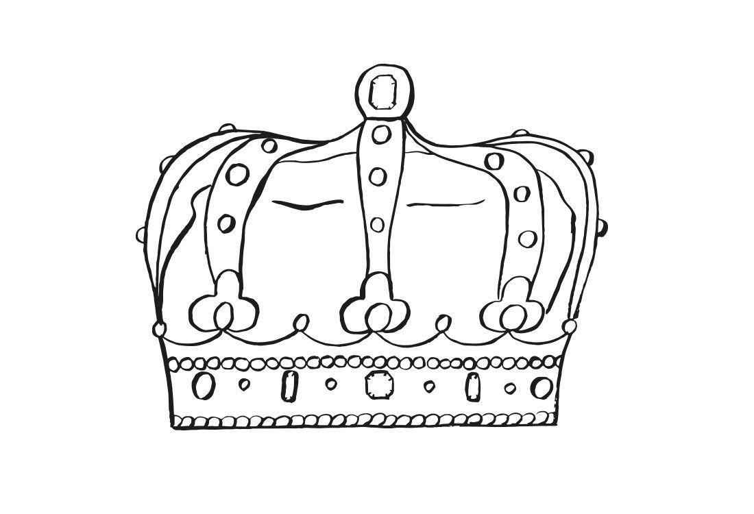 illustration of crown
