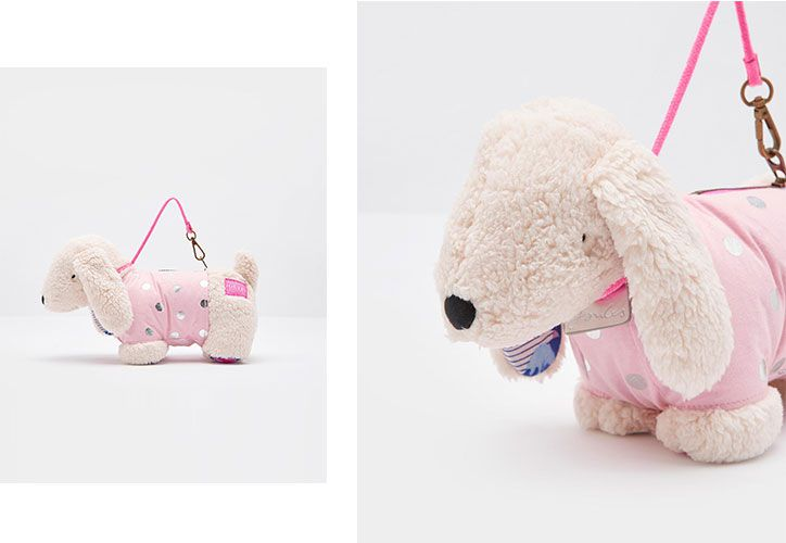 joules kids character dog bag