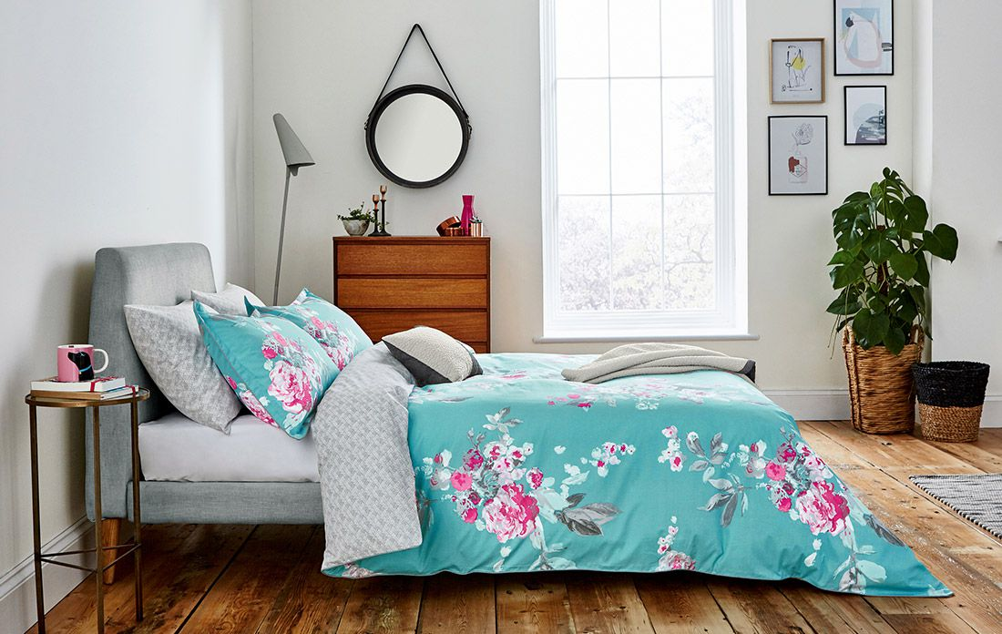 joules bedding collection in bedroom