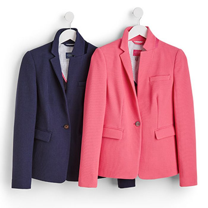 joules tailored blazer collection