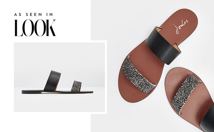 When your toes need to be free a perfect pair of day-to-evening sandals is a must. We think these fit the bill nicely. Complete with a comfortable sole and an eye-catching leather, suede or hair on hide upper.