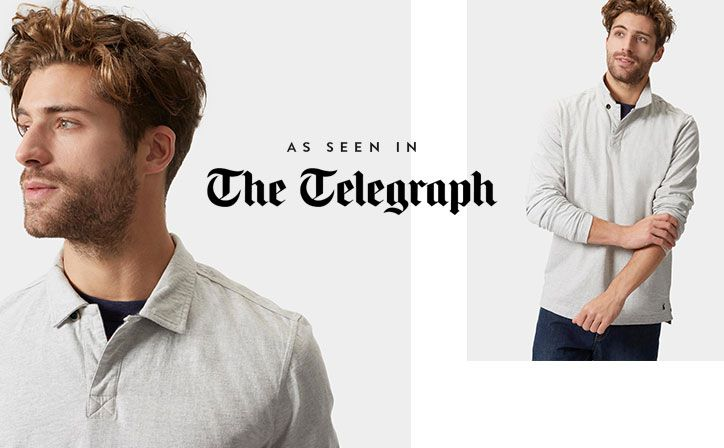 Crafted from soft cotton slub-jersey to give it a lived-in feel the moment you pull it on, this rugby shirt is classically styled and free of any embellishment or embroideries.
