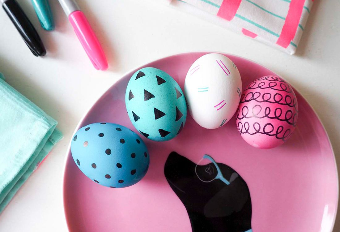 decorated easter eggs craft activity for all the family this easter