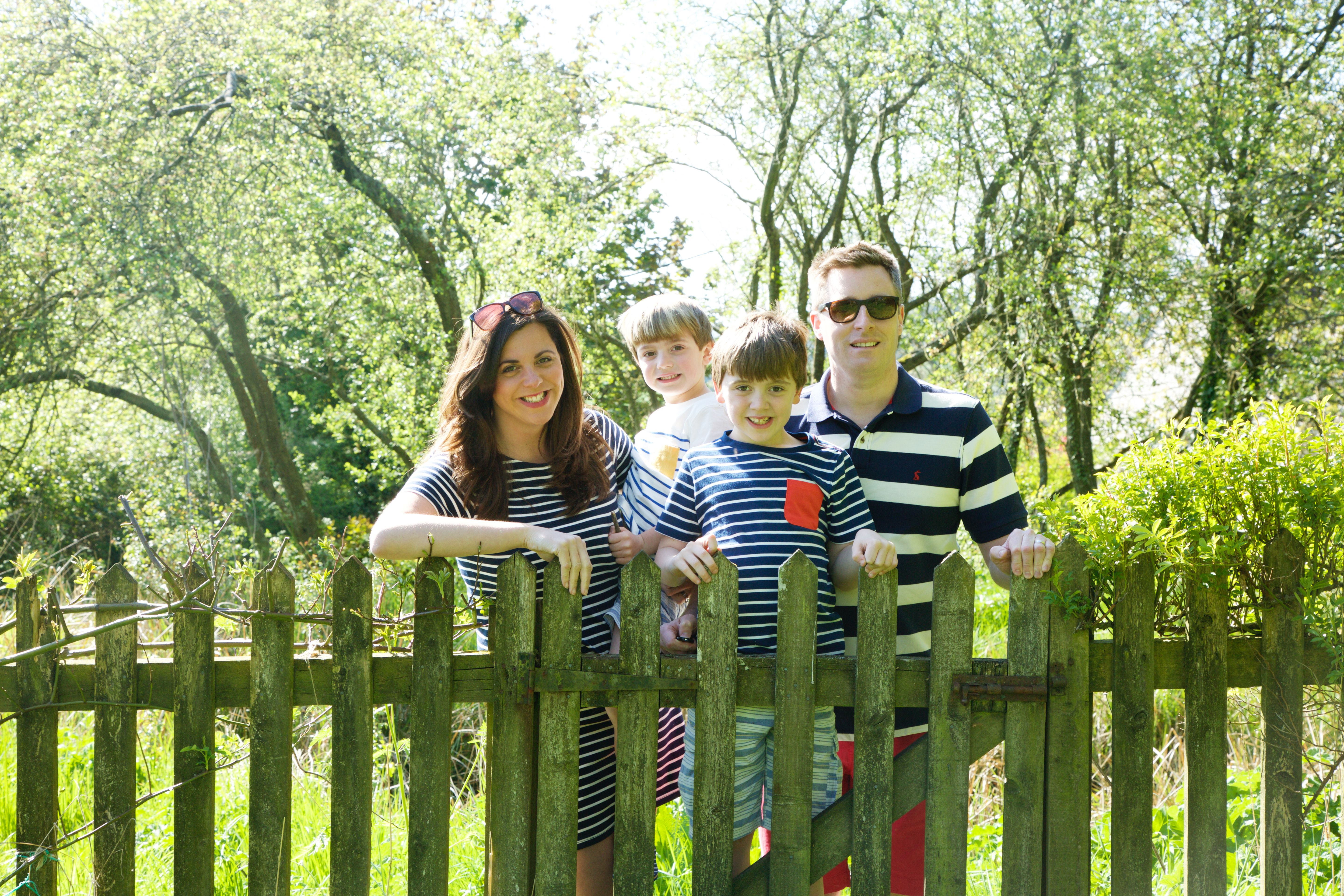 919c12b11 Family Stripes with Capture By Lucy · Blogger tinker styles Joules denim  dress ...