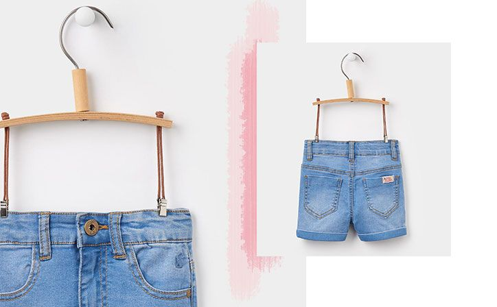 joules girls denim shorts for the summer