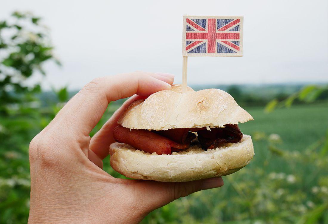 british picnic sandwich