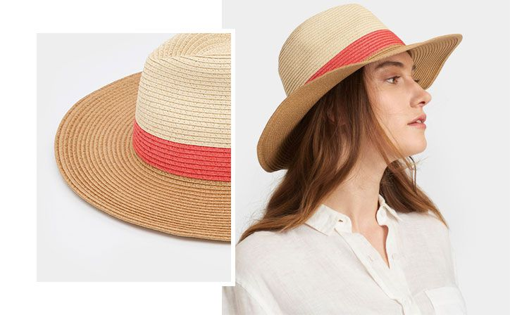 joules women's straw dora hat perfect summer holiday accessory