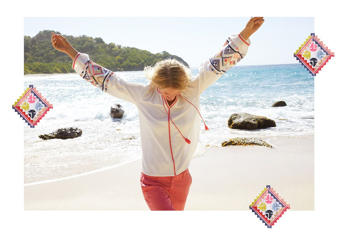 joules embroidered summer fashion
