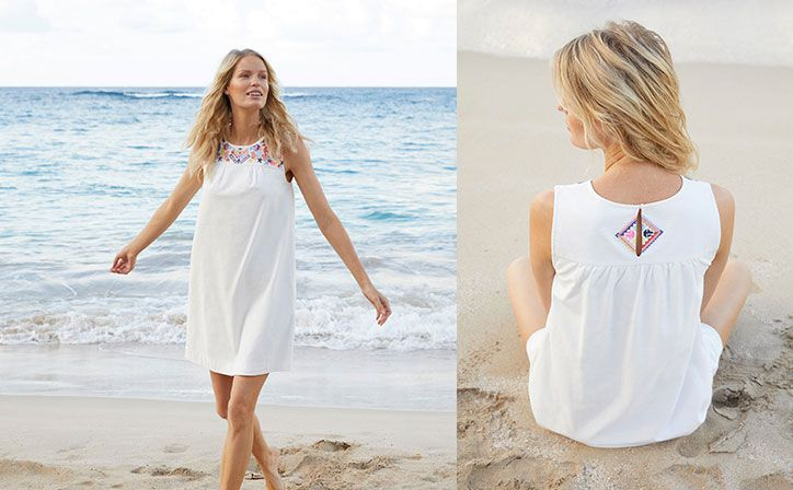 joules embroidered smock dress for the summer fashion