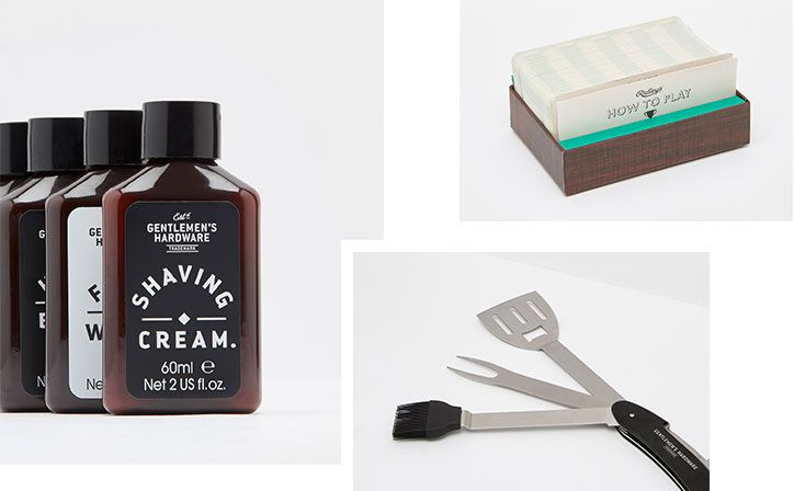 collection of fun and practical gifts, perfect for Father's Day