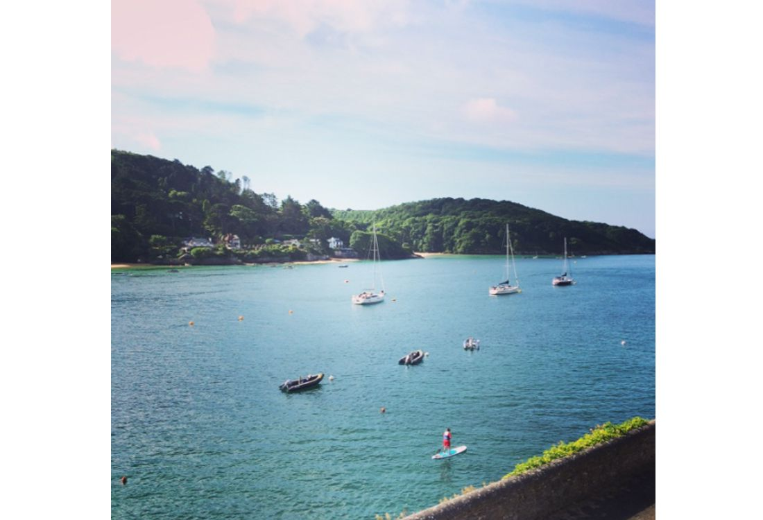 Salcombe Harbour No 4 – East Portlemouth beach in salcombe