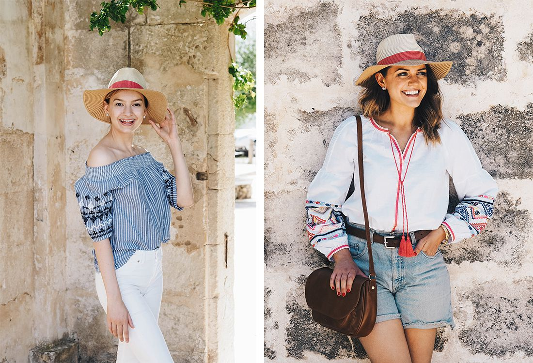 Two of our favourite lifestyle and fashion bloggers, Coco's Tea Party and The Elgin Avenue recently holidayed in Menorca with a suitcase full of Joules clothing (see their favourite pieces here and here). On return we sat down for a coffee with both Ella and Monica to discuss the oh so amazing snaps they shared and learn a little more about them. Here's what they had to say…