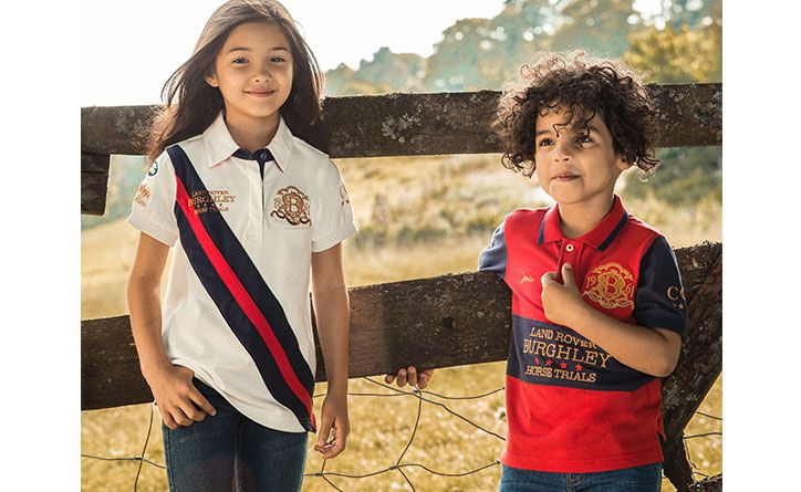 The Joules Family shot of their official Burghley Horse Trials collection picks
