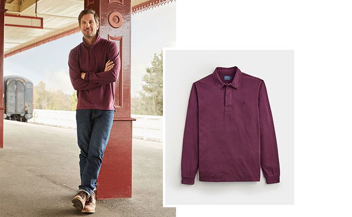 joules guides to men's classic rugby shirts