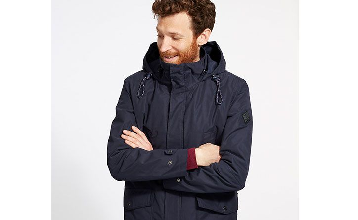 Fit all manner of outdoor pursuits, this waterproof jacket is full of functional features that will make sure you're ready to outwit the weather in an instant
