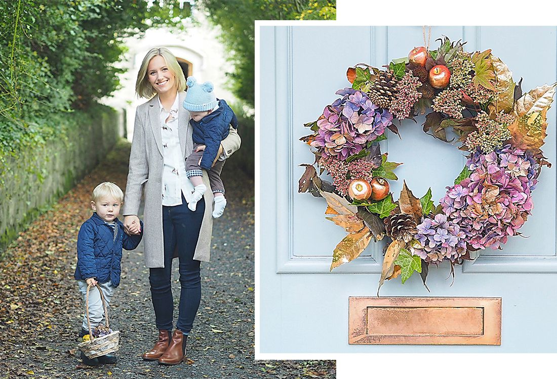 The lovely lifestyle blogger Laura-Ann behind the blog The Pretty Diary tells us about her love for autumn and shares her guide to making the best homemade autumnal wreath this season. Here's what she had to say…