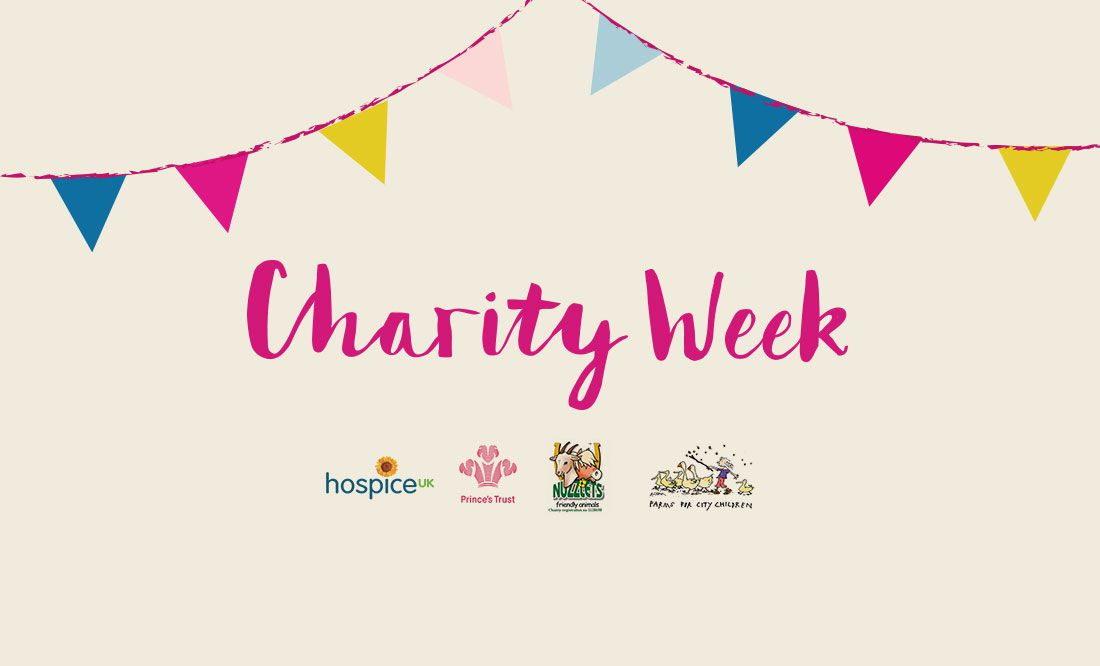 From our Head Office to stores across the country we're spending a whole week getting creative to raise money for our four chosen charities.