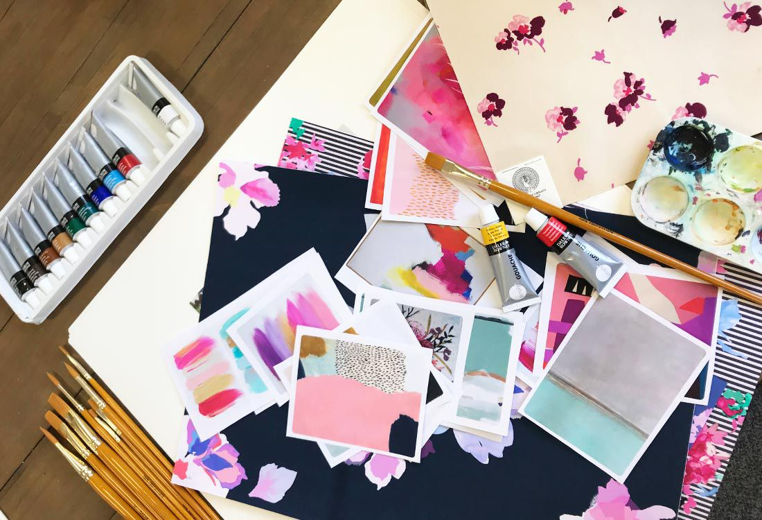 To help our bloggers understand how we create our prints we sat down with some of the talented Joules print designers to talk through the process of concept through to final prints.