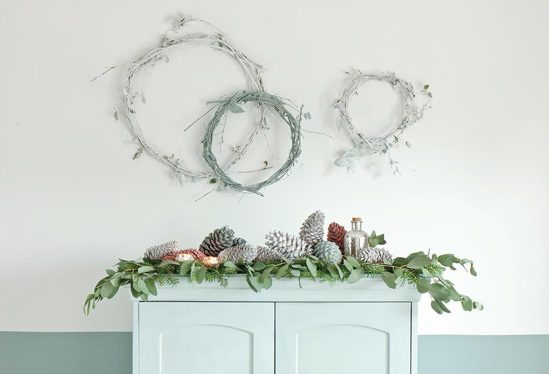 It's beginning to look a lot like Christmas. At this time of the year, there's an array of opportunities to add a little excitement to your home by introducing new special touches. Annie Sloan, a respected expert in paint and colour, shares how Scandinavian styled festive inspirations can transform your home this Christmas. Here's what she had to say…