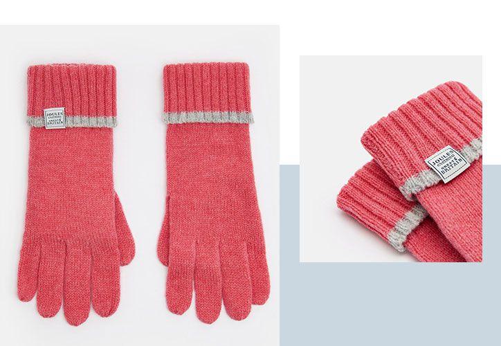 joules women's huddle gloves