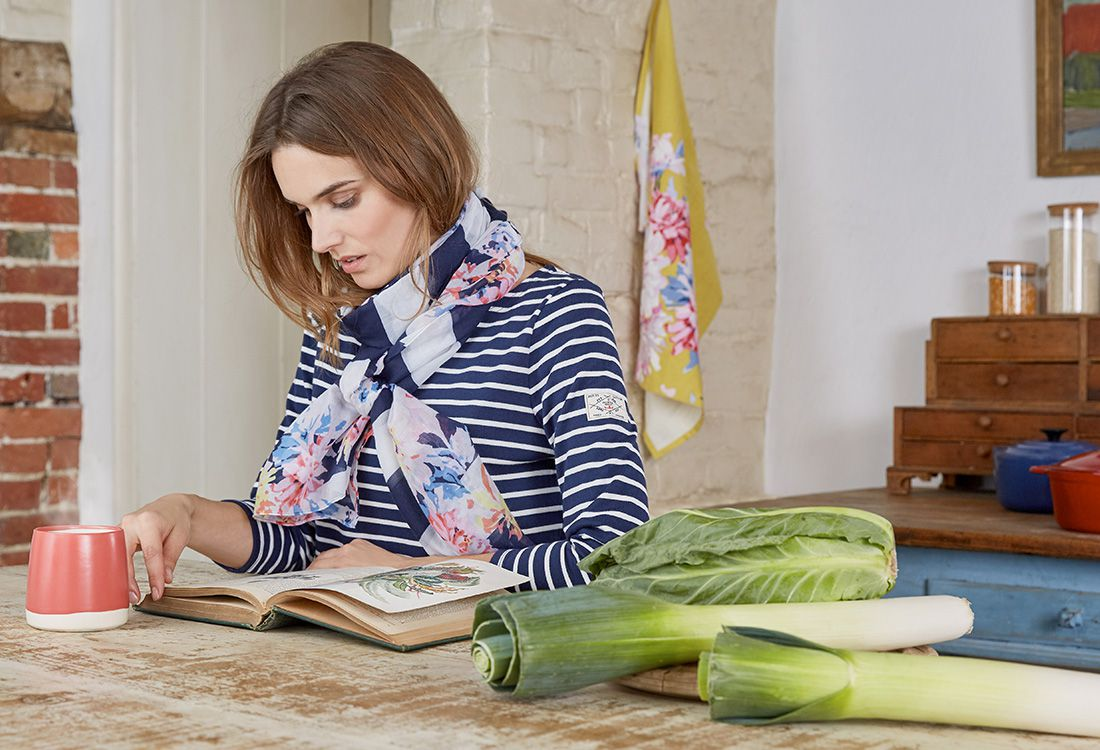 What began life as a classic Breton striped top has been extended each season to include hero prints, new and archive and year on year it shows no sign of losing its popularity.